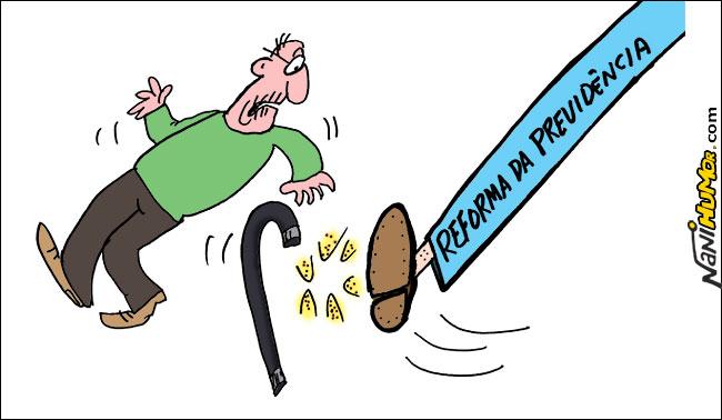 As contas falsas da Reforma da Previdência                alt=